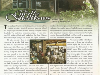 New Smyrna Magazine Review
