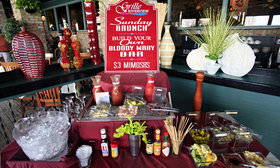 Sunday Brunch Build Your Own Bloody Mary Bar