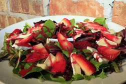 Strawberry & Baby Brie Salad